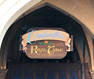 Birthday lunch at Cinderella's Royal Table