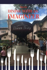 Tips for Dining with an Imagineer at Walt Disney World