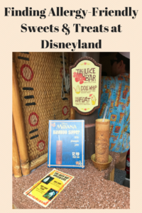Finding Allergy-Friendly Sweets & Treats at Disneyland