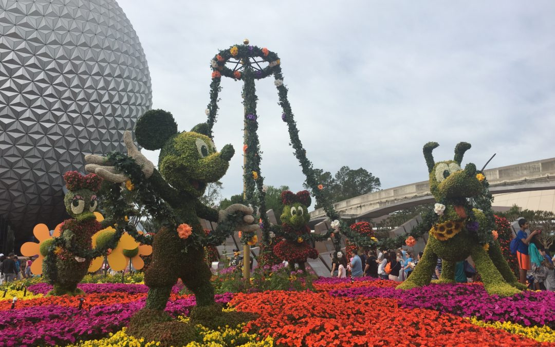 Throwback Thursday: A Day at the EPCOT Flower and Garden Festival
