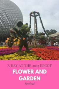 Everything You Need to Know for the 2017 Epcot Flower & Garden Festival!