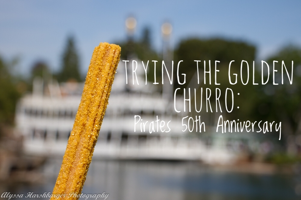 Trying the Golden Churro: Celebrating Pirates 50th Anniversary at Disneyland