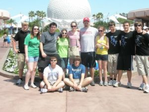 Visiting Walt Disney World with a Marching Band