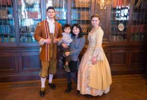 Character photos, Beauty and the Beast Event at Casa Loma in Toronto, Canada