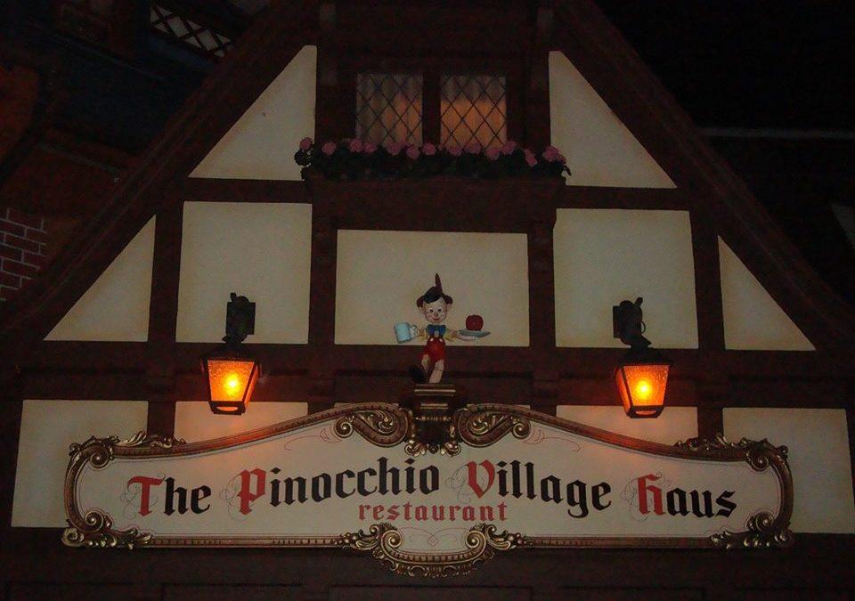 Pinocchio Village Haus Dinner Review