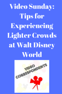 Tips for Experiencing Lighter Crowds at Walt Disney World