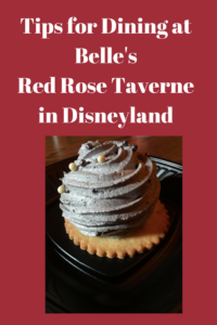 Awesome tips for dining at Disneyland's NEWEST quick service restaurant, Belle's Red Rose Taverne!