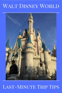 Great Last-Minute Trip Tips for a Spontaneous Trip to Walt Disney World