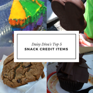 Daisy Diva's Top 5 Snack Credit Items