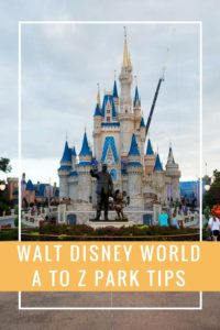 Walt Disney World Park Tips from A to Z