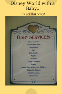 Tackling Disney with a Baby, Disney World with a baby or small child
