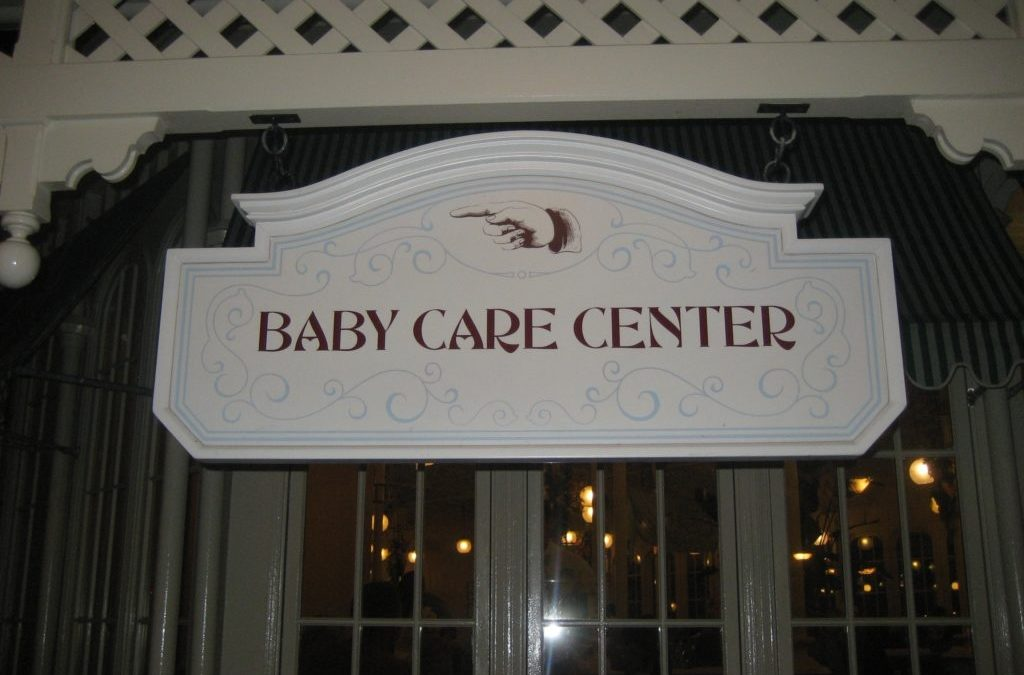 Bringing a baby to Disney?  It's not that scary!