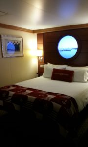 How big are Disney cruise line staterooms? What type of beds are found in Disney cruise rooms?