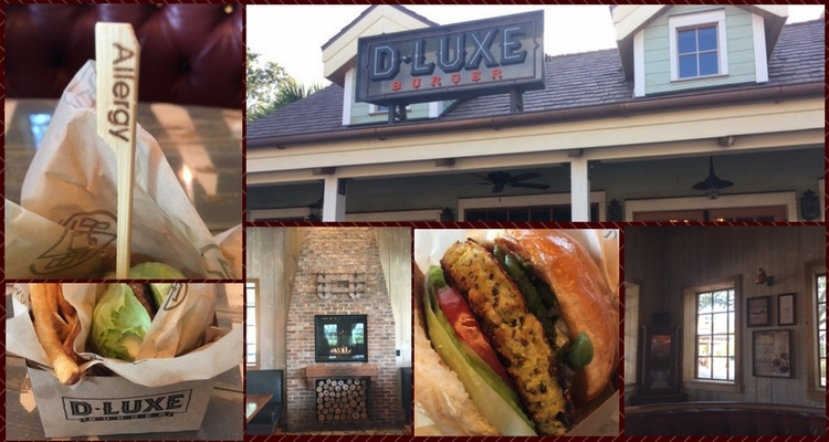 Throwback Thursday: Allergy-friendly Burgers and Fries! D-LUXE Burger, Walt Disney World