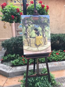 Snow White Painting Festival of the Arts EPCOT