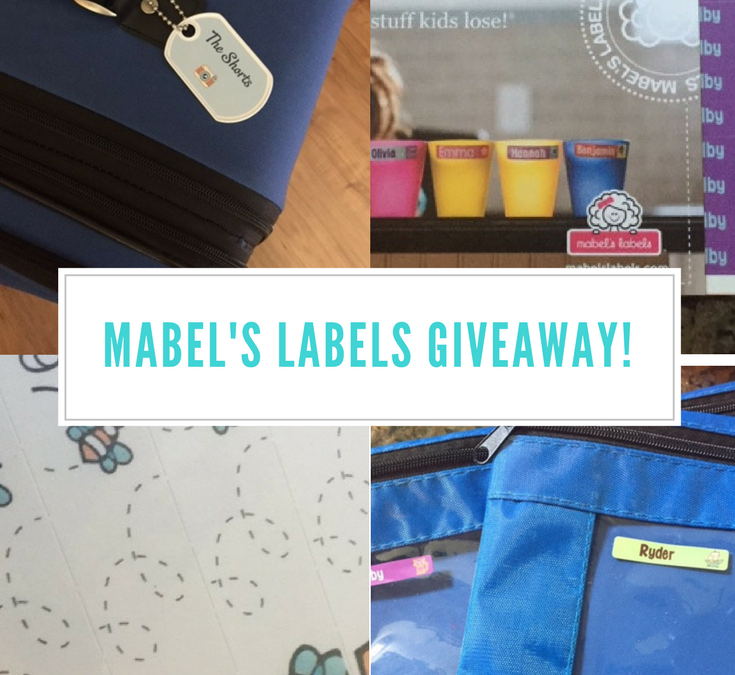 Mabel's Labels- The Perfect Disney Trip Companion! Review & Giveaway