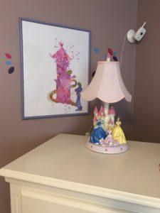 Simple tasteful Disney home decor