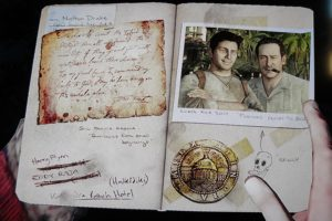 Nathan Drake's Journal from the video game Uncharted