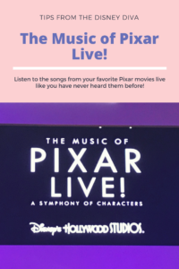 Pixar Live! / The Music of Pixar Live! at Hollywood Studios