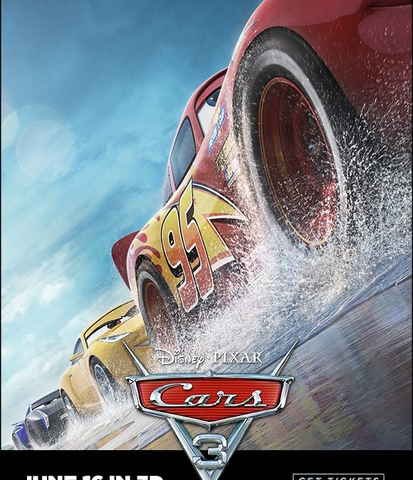 "4DX Announces ""Cars 3"" as First-Ever Disney Pixar Film to be Available in the Immersive Format"