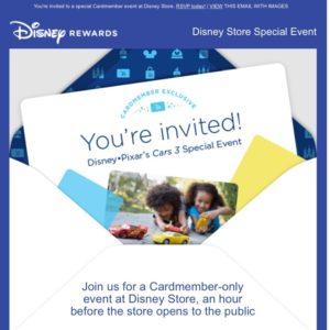 Disney Store Disney Visa