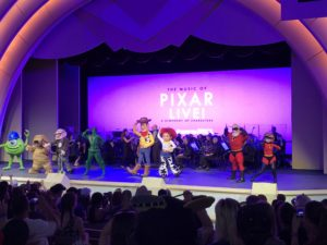 Finale of Pixar Live! / The Music of Pixar Live! at Hollywood Studios