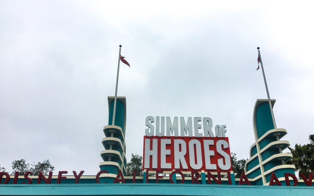 "Experiencing the Action Packed ""Summer of Heroes"" at California Adventure! – Including Guardians of the Galaxy: Mission Breakout!"