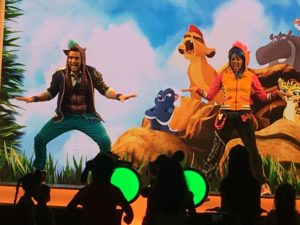 New Disney Junior Dance Party in California Adventure! / The Lion Guard