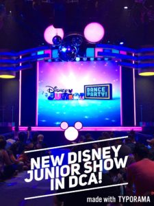 New Disney Junior Dance Party in California Adventure!