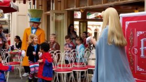 Disneyland Bucket List / Musical Chairs with Alice and Mad Hatter
