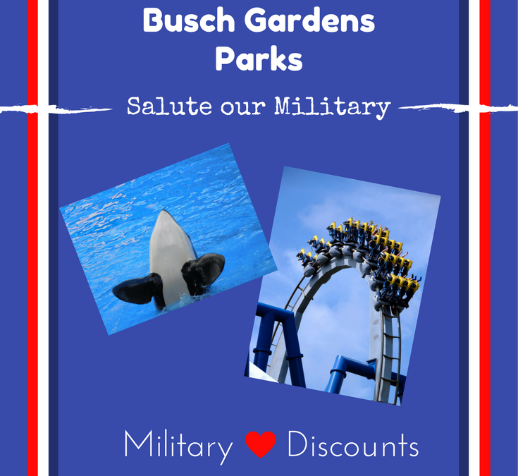 2017 Military Discounts Outside of Disney, Part 2- Free Admission to Busch Gardens/Sea World Parks