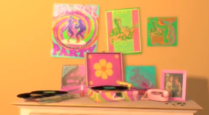 Emily's Dresser and poster collection in Toy Story 2