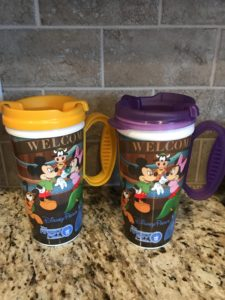 Disney Saving Tips / refillable mugs at Walt Disney World / Simple Disney World Money Saving Tips
