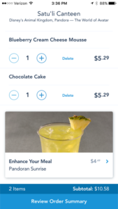 Mobile Ordering at Walt Disney World Resort: A FastPass+ for Food