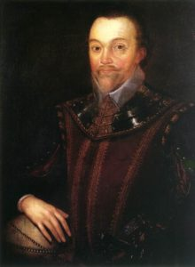 painting of Sir Francis Drake