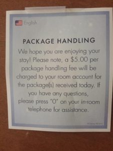 Resort Package Fee
