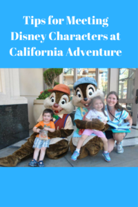 Which Disney Characters in California Adventures