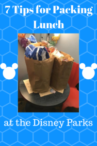 Packing Lunch at Disney