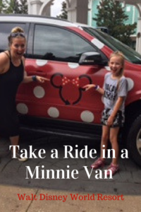 Take a Ride in a Minnie Van at Walt Disney World Resort