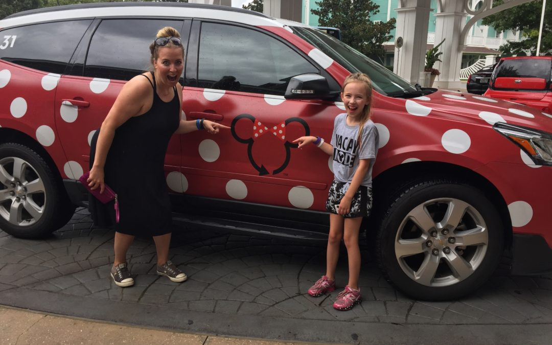 "Take a Ride in a ""Minnie"" Van at the Walt Disney World Resort!"