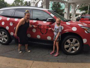 Take a Ride in a Minnie Van at Walt Disney World Resort