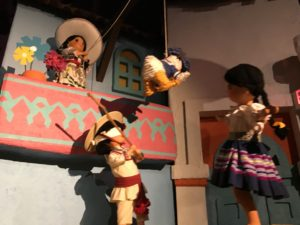 Animatronics at Gran Fiesta Tour at Epcot
