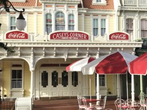 Casey's Corner, Magic Kingdom quick service restaurant / Hit One Out Of The Park At Casey's Corner
