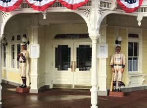 Entrance to Casey's Corner, Walt Disney World's Magic Kingdom / Hit One Out Of The Park At Casey's Corner
