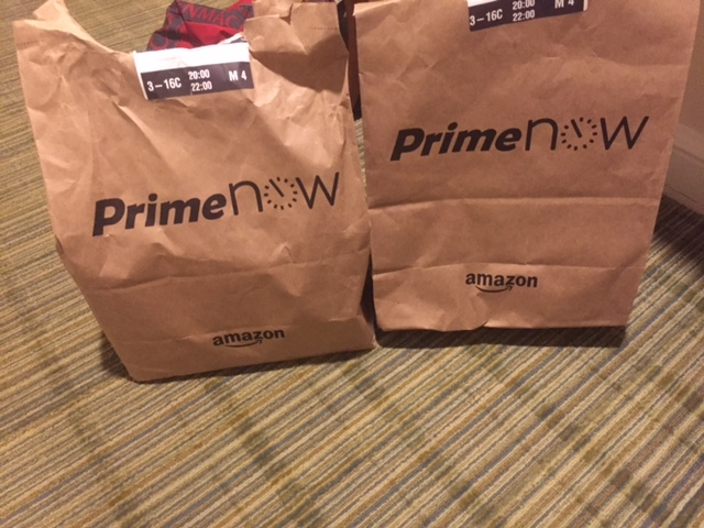 Shipping to Your WDW Resort: Amazon Prime Pantry or Prime Now?