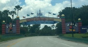 WDW Welcome Sign