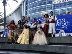 Top 23 Costumes at the 2017 D23 Expo / Amber Arden / Disney Royalty