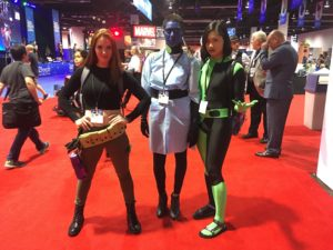 Top 23 Costumes at the 2017 D23 Expo / Kim Possible / Shego / Dr. Drakken