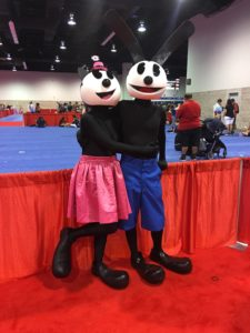 Top 23 Costumes at the 2017 D23 Expo / Oswald and Ortensia
