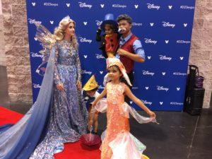Top 23 Costumes at the 2017 D23 Expo / Pinocchio / Jiminy Cricket / Cleo / Blue Fairy / Geppetto